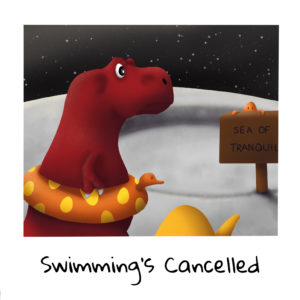 Vacation Time! Swimming's Cancelled